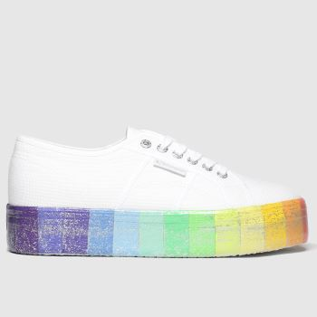 Superga Multi 2790 Multicol Platform Womens Trainers