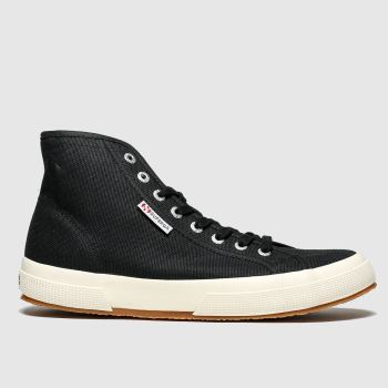 Superga Black 2795 c2namevalue::Womens Trainers