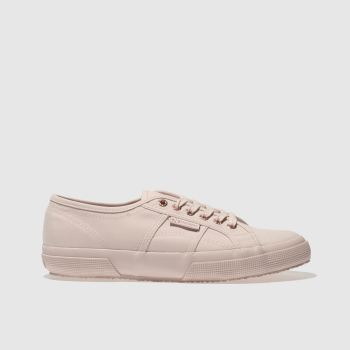 Superga Pink 2750 Canvas Womens Trainers