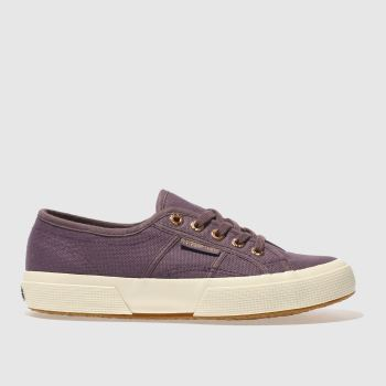 Superga Purple 2750 Canvas Womens Trainers