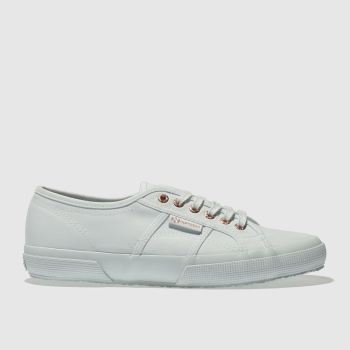 Superga Blue 2750 Canvas Womens Trainers