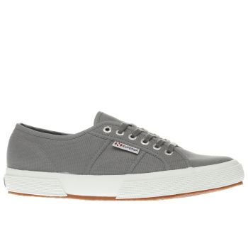 Superga Grey 2750 Canvas Womens Trainers