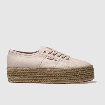 Superga Pink 2790 Cotrope Womens Trainers