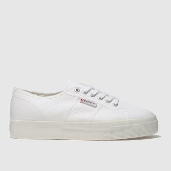 Superga White 2730 COTU CANVAS Trainers