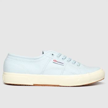 Superga Pale Blue 2750 Gloss Sole Womens Trainers