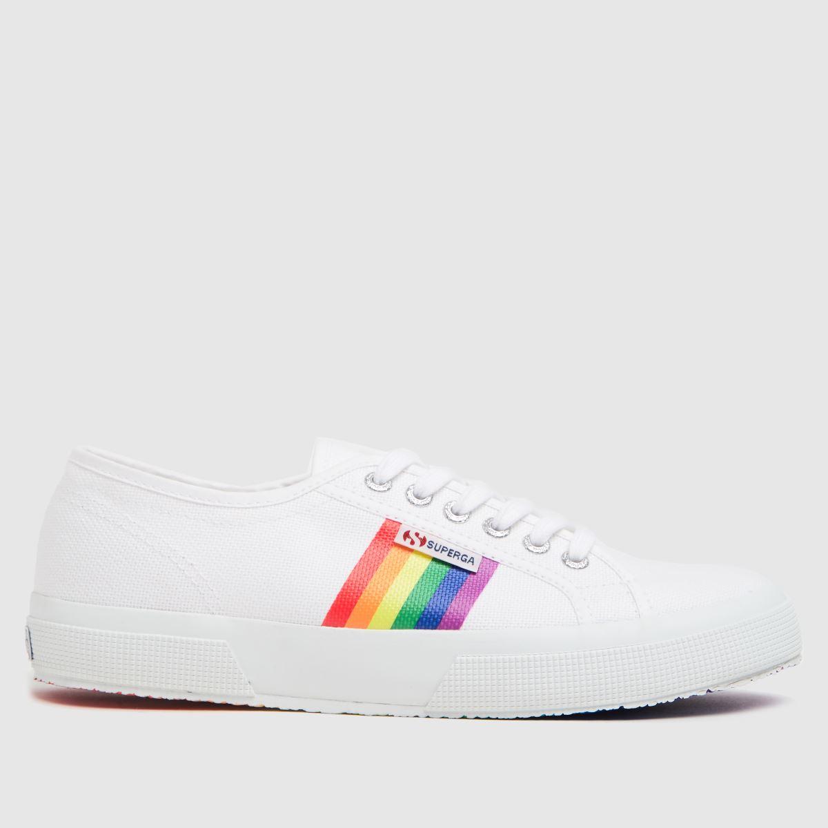 Superga White 2750 Pride Outsole Trainers