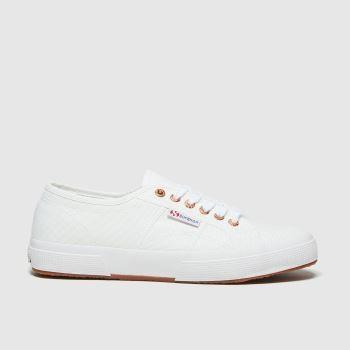 Superga Weiß 2750 Cotu Classic Damen Sneaker