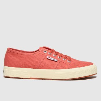 Superga Red 2750 Cotu Classic Womens Trainers
