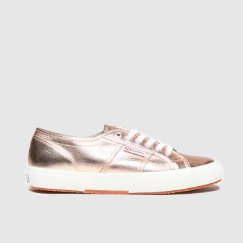 Superga Peach 2750 Cotmetu Womens Trainers