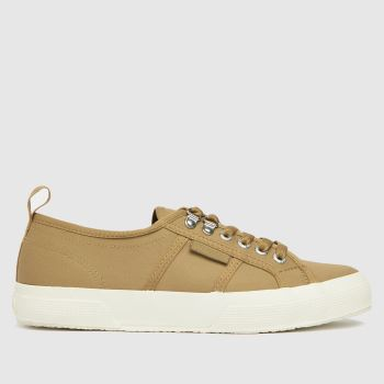 Superga Beige 2750 Trench Womens Trainers