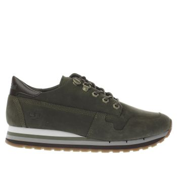 Timberland Green Antwerp Air Womens Trainers