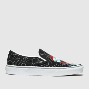 Vans Black & White Classic Slip-On X Tnbc Womens Trainers