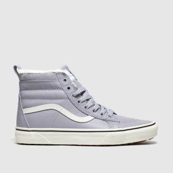 Vans Light Grey Sk8-hi Mte Womens Trainers