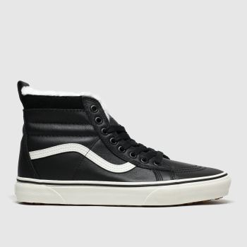 Vans Black & White Sk8-hi Mte Womens Trainers