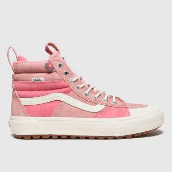 Vans Pale Pink Sk8-hi Mte 2.0 Dx Womens Trainers#
