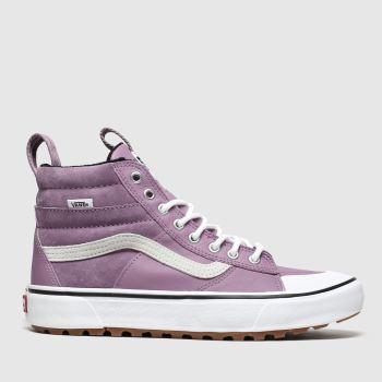 vans lilac sk8-hi mte 2.0 dx trainers
