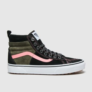 Vans Black & Brown Sk8-hi Mte 2.0 Dx Womens Trainers