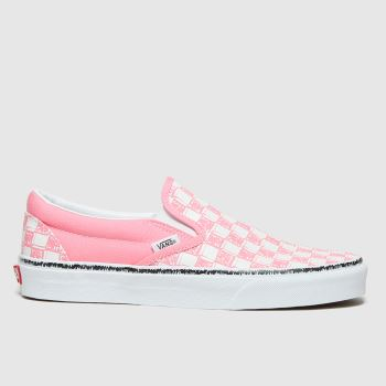 Vans Pale Pink Classic Slip-on Womens Trainers