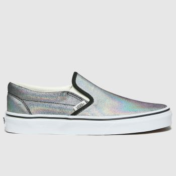 Vans Multi Classic Slip-on Prism Suede Womens Trainers#