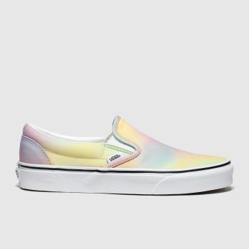 Vans Multi Classic Slip-on Womens Trainers#