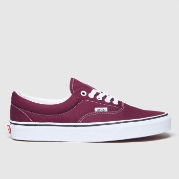 Vans Burgundy Era Womens Trainers