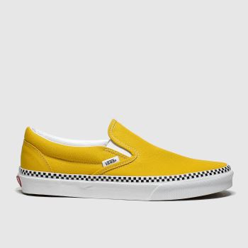 Vans Yellow Classic Slip-on c2namevalue::Womens Trainers