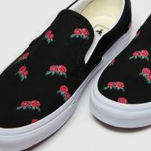 Vans Classic Slip-on Rose Print 1