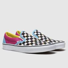 Vans Classic Slip-on Crazy Check 1