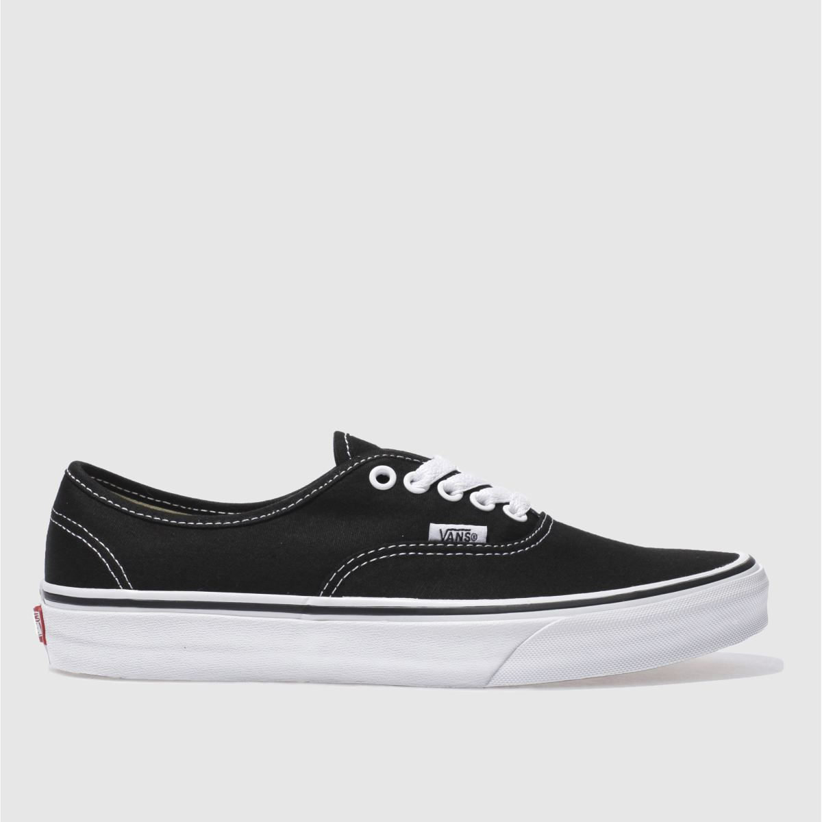 Click to view product details and reviews for Vans Black White Authentic Ii Trainers.