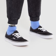 Damen vans Schwarz-weiß Authentic Ii Sneaker