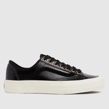 Vans Black Style 36 Decon Sf Womens Trainers