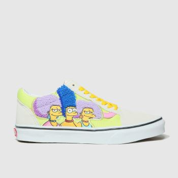 Vans Navy & Stone Old Skool The Simpsons Womens Trainers#