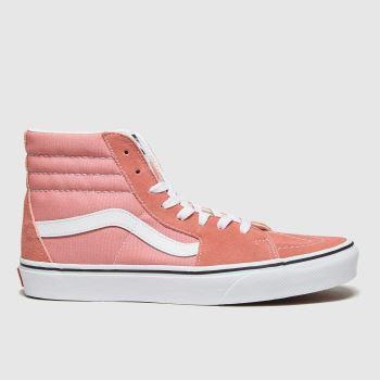 Vans Pale Pink Sk8-hi Womens Trainers