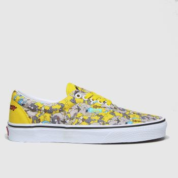 Vans Blau-Gelb Era The Simpsons Damen Sneaker