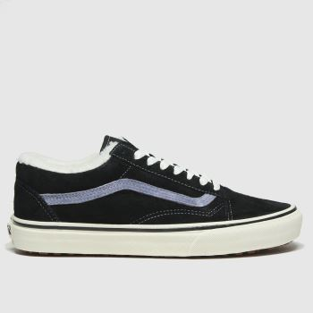 Vans Black Old Skool Mte Womens Trainers