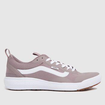 Vans Lilac Ultrarange Exo Se Womens Trainers
