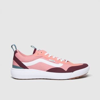 Vans Pale Pink Ultrarange Exo Womens Trainers