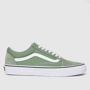 Vans Green Old Skool Womens Trainers