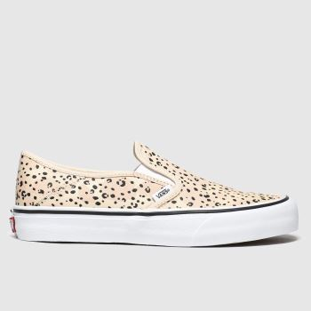 Vans Pale Pink Slip-on Sf Leila Hurst Womens Trainers