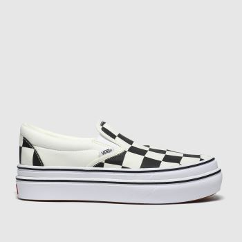 Vans Black & White Super Comfycush Slip-on Womens Trainers