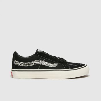 Vans Black & White Sk8-low Reissue Womens Trainers#