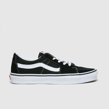 Vans Schwarz-Weiß Sk8-low Damen Sneaker