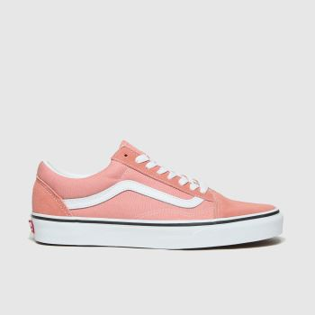 Vans Pale Pink Old Skool Womens Trainers