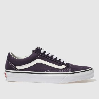 VANS PURPLE OLD SKOOL TRAINERS
