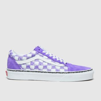 Vans Lilac Old Skool Womens Trainers#