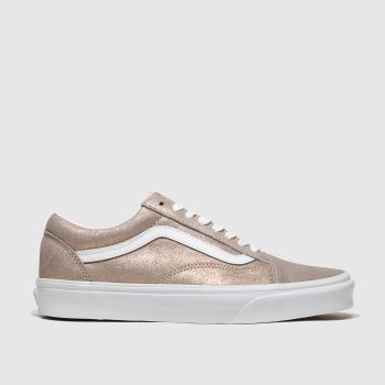 Vans Bronze Old Skool Womens Trainers