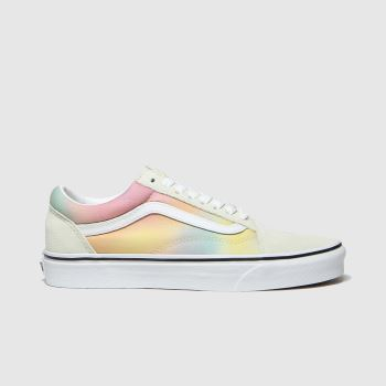 Vans Bunt Old Skool Damen Sneaker