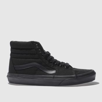 Vans Black Sk8-hi Womens Trainers
