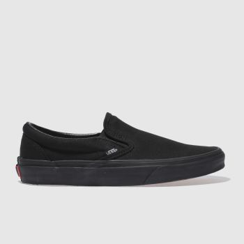 Vans Black Classic Slip On I I I Womens Trainers#