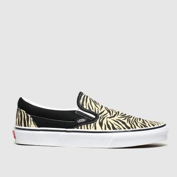 Vans Black & Brown Classic Slip-on Womens Trainers